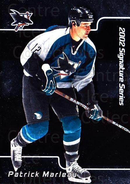 2001-02 BAP Signature Series #144 Patrick Marleau<br/>7 In Stock - $1.00 each - <a href=https://centericecollectibles.foxycart.com/cart?name=2001-02%20BAP%20Signature%20Series%20%23144%20Patrick%20Marleau...&quantity_max=7&price=$1.00&code=92440 class=foxycart> Buy it now! </a>