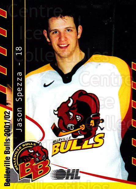 2001-02 Belleville Bulls Update #6 Jason Spezza<br/>1 In Stock - $3.00 each - <a href=https://centericecollectibles.foxycart.com/cart?name=2001-02%20Belleville%20Bulls%20Update%20%236%20Jason%20Spezza...&price=$3.00&code=92548 class=foxycart> Buy it now! </a>
