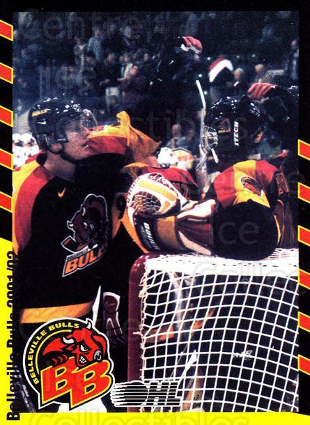2001-02 Belleville Bulls #27 Celebration<br/>1 In Stock - $3.00 each - <a href=https://centericecollectibles.foxycart.com/cart?name=2001-02%20Belleville%20Bulls%20%2327%20Celebration...&price=$3.00&code=92566 class=foxycart> Buy it now! </a>
