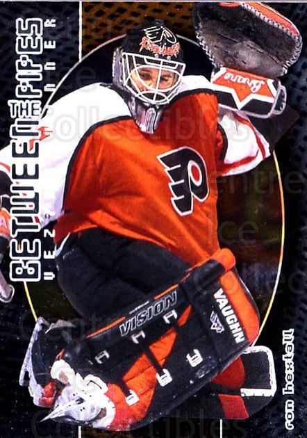 2001-02 Between the Pipes #114 Ron Hextall<br/>6 In Stock - $1.00 each - <a href=https://centericecollectibles.foxycart.com/cart?name=2001-02%20Between%20the%20Pipes%20%23114%20Ron%20Hextall...&quantity_max=6&price=$1.00&code=92607 class=foxycart> Buy it now! </a>