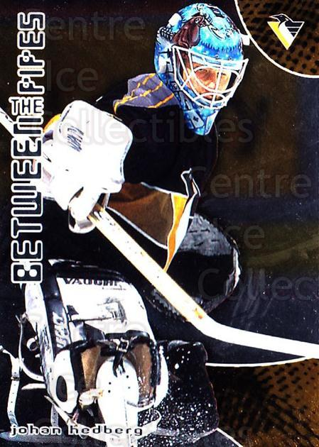 2001-02 Between the Pipes #42 Johan Hedberg<br/>5 In Stock - $1.00 each - <a href=https://centericecollectibles.foxycart.com/cart?name=2001-02%20Between%20the%20Pipes%20%2342%20Johan%20Hedberg...&quantity_max=5&price=$1.00&code=92681 class=foxycart> Buy it now! </a>