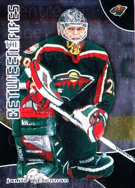 2001-02 Between the Pipes #49 Jamie McLennan<br/>7 In Stock - $1.00 each - <a href=https://centericecollectibles.foxycart.com/cart?name=2001-02%20Between%20the%20Pipes%20%2349%20Jamie%20McLennan...&quantity_max=7&price=$1.00&code=92686 class=foxycart> Buy it now! </a>
