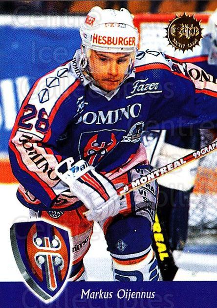 1994-95 Finnish SISU #114 Markus Oijennus<br/>3 In Stock - $2.00 each - <a href=https://centericecollectibles.foxycart.com/cart?name=1994-95%20Finnish%20SISU%20%23114%20Markus%20Oijennus...&quantity_max=3&price=$2.00&code=926 class=foxycart> Buy it now! </a>