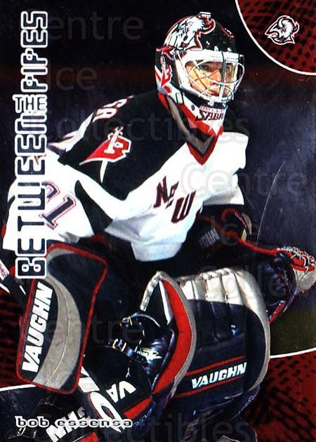 2001-02 Between the Pipes #70 Bob Essensa<br/>7 In Stock - $1.00 each - <a href=https://centericecollectibles.foxycart.com/cart?name=2001-02%20Between%20the%20Pipes%20%2370%20Bob%20Essensa...&quantity_max=7&price=$1.00&code=92708 class=foxycart> Buy it now! </a>