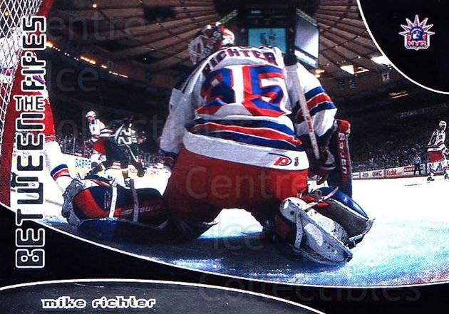 2001-02 Between the Pipes #92 Mike Richter<br/>7 In Stock - $1.00 each - <a href=https://centericecollectibles.foxycart.com/cart?name=2001-02%20Between%20the%20Pipes%20%2392%20Mike%20Richter...&quantity_max=7&price=$1.00&code=92729 class=foxycart> Buy it now! </a>