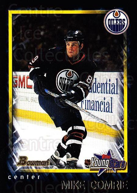 2001-02 Bowman YoungStars #153 Mike Comrie<br/>10 In Stock - $1.00 each - <a href=https://centericecollectibles.foxycart.com/cart?name=2001-02%20Bowman%20YoungStars%20%23153%20Mike%20Comrie...&quantity_max=10&price=$1.00&code=92930 class=foxycart> Buy it now! </a>