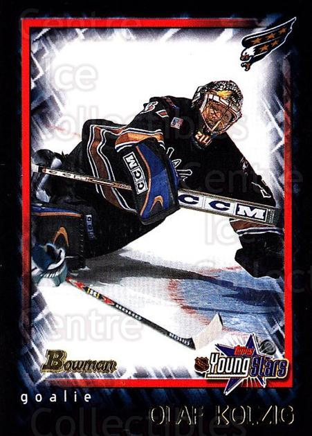 2001-02 Bowman YoungStars #57 Olaf Kolzig<br/>3 In Stock - $1.00 each - <a href=https://centericecollectibles.foxycart.com/cart?name=2001-02%20Bowman%20YoungStars%20%2357%20Olaf%20Kolzig...&quantity_max=3&price=$1.00&code=92984 class=foxycart> Buy it now! </a>