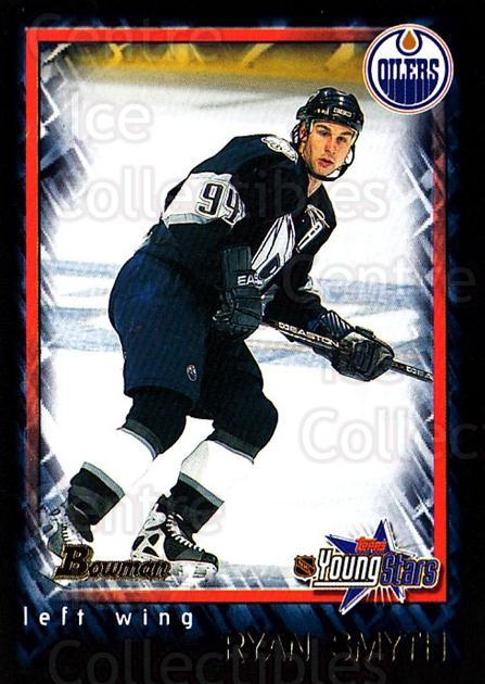 2001-02 Bowman YoungStars #64 Ryan Smyth<br/>8 In Stock - $1.00 each - <a href=https://centericecollectibles.foxycart.com/cart?name=2001-02%20Bowman%20YoungStars%20%2364%20Ryan%20Smyth...&quantity_max=8&price=$1.00&code=92992 class=foxycart> Buy it now! </a>