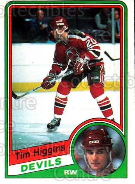 1984-85 O-Pee-Chee #111 Tim Higgins<br/>8 In Stock - $1.00 each - <a href=https://centericecollectibles.foxycart.com/cart?name=1984-85%20O-Pee-Chee%20%23111%20Tim%20Higgins...&quantity_max=8&price=$1.00&code=92 class=foxycart> Buy it now! </a>