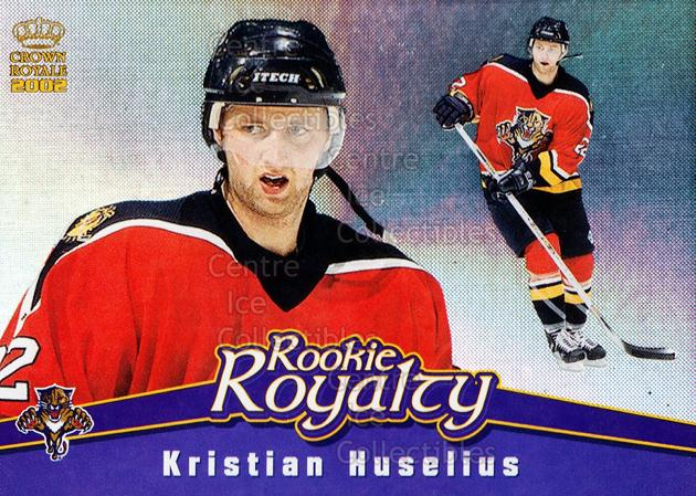 2001-02 Crown Royale Rookie Royalty #10 Kristian Huselius<br/>5 In Stock - $2.00 each - <a href=https://centericecollectibles.foxycart.com/cart?name=2001-02%20Crown%20Royale%20Rookie%20Royalty%20%2310%20Kristian%20Huseli...&quantity_max=5&price=$2.00&code=93240 class=foxycart> Buy it now! </a>