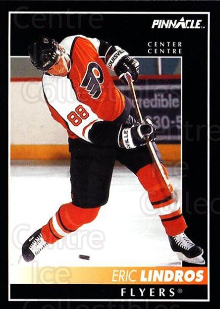 1992-93 Pinnacle Canadian #88 Eric Lindros<br/>5 In Stock - $1.00 each - <a href=https://centericecollectibles.foxycart.com/cart?name=1992-93%20Pinnacle%20Canadian%20%2388%20Eric%20Lindros...&quantity_max=5&price=$1.00&code=9328 class=foxycart> Buy it now! </a>
