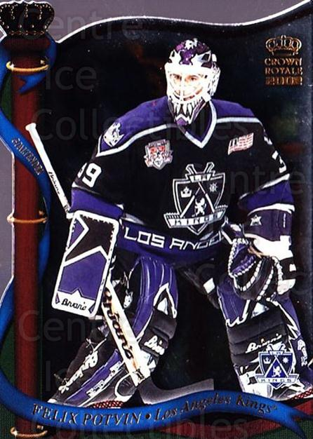 2001-02 Crown Royale #70 Felix Potvin<br/>4 In Stock - $1.00 each - <a href=https://centericecollectibles.foxycart.com/cart?name=2001-02%20Crown%20Royale%20%2370%20Felix%20Potvin...&quantity_max=4&price=$1.00&code=93332 class=foxycart> Buy it now! </a>