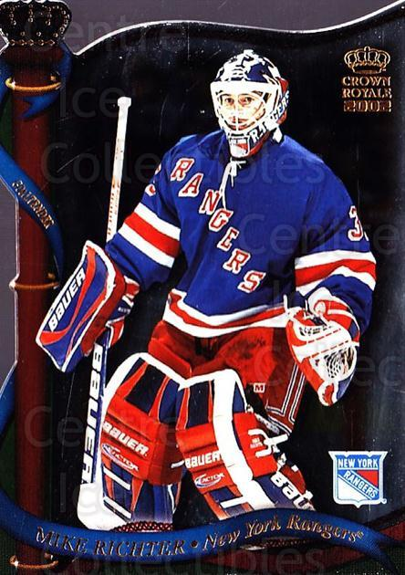 2001-02 Crown Royale #98 Mike Richter<br/>5 In Stock - $1.00 each - <a href=https://centericecollectibles.foxycart.com/cart?name=2001-02%20Crown%20Royale%20%2398%20Mike%20Richter...&quantity_max=5&price=$1.00&code=93359 class=foxycart> Buy it now! </a>