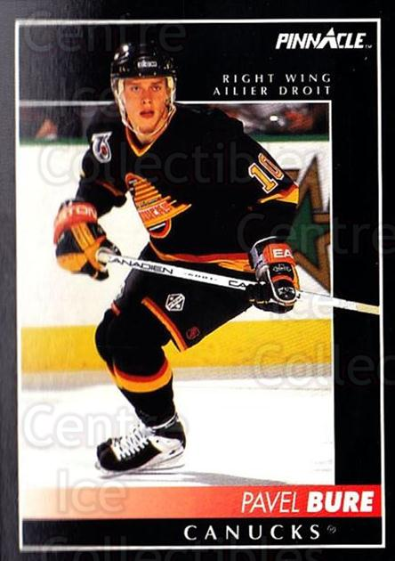 1992-93 Pinnacle Canadian #110 Pavel Bure<br/>5 In Stock - $1.00 each - <a href=https://centericecollectibles.foxycart.com/cart?name=1992-93%20Pinnacle%20Canadian%20%23110%20Pavel%20Bure...&quantity_max=5&price=$1.00&code=9343 class=foxycart> Buy it now! </a>