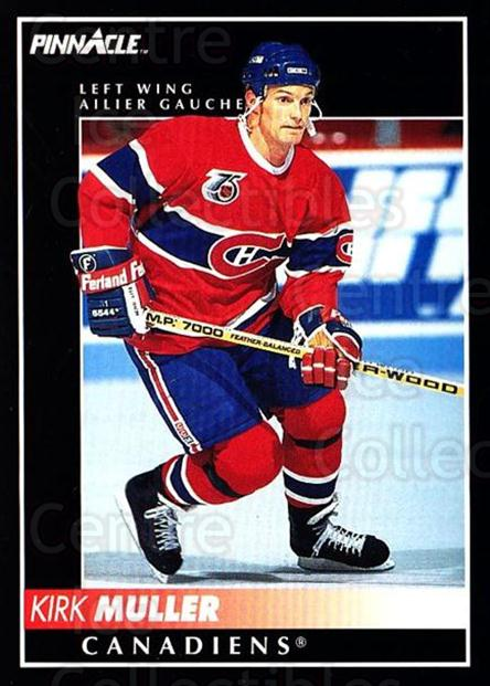1992-93 Pinnacle Canadian #111 Kirk Muller<br/>4 In Stock - $1.00 each - <a href=https://centericecollectibles.foxycart.com/cart?name=1992-93%20Pinnacle%20Canadian%20%23111%20Kirk%20Muller...&quantity_max=4&price=$1.00&code=9344 class=foxycart> Buy it now! </a>