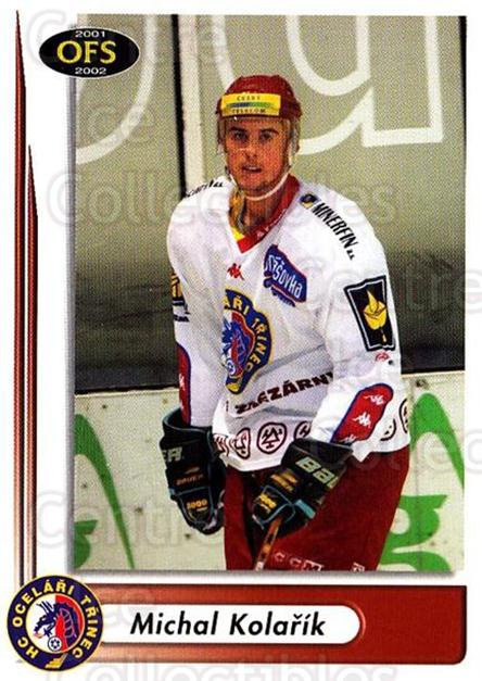 2001-02 Czech OFS #127 Michal Kolarik<br/>4 In Stock - $2.00 each - <a href=https://centericecollectibles.foxycart.com/cart?name=2001-02%20Czech%20OFS%20%23127%20Michal%20Kolarik...&quantity_max=4&price=$2.00&code=93497 class=foxycart> Buy it now! </a>