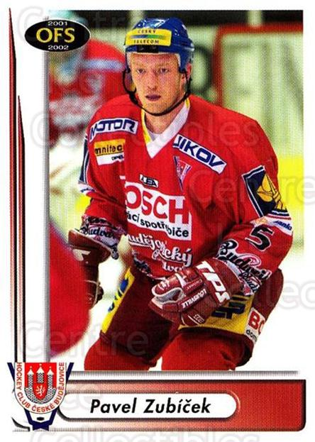 2001-02 Czech OFS #134 Pavel Zubicek<br/>4 In Stock - $2.00 each - <a href=https://centericecollectibles.foxycart.com/cart?name=2001-02%20Czech%20OFS%20%23134%20Pavel%20Zubicek...&quantity_max=4&price=$2.00&code=93504 class=foxycart> Buy it now! </a>