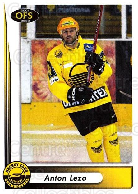 2001-02 Czech OFS #154 Anton Lezo<br/>7 In Stock - $2.00 each - <a href=https://centericecollectibles.foxycart.com/cart?name=2001-02%20Czech%20OFS%20%23154%20Anton%20Lezo...&quantity_max=7&price=$2.00&code=93524 class=foxycart> Buy it now! </a>