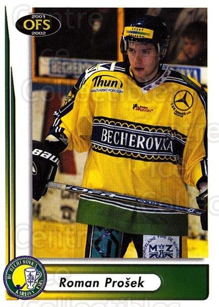 2001-02 Czech OFS #198 Roman Prosek<br/>6 In Stock - $2.00 each - <a href=https://centericecollectibles.foxycart.com/cart?name=2001-02%20Czech%20OFS%20%23198%20Roman%20Prosek...&quantity_max=6&price=$2.00&code=93564 class=foxycart> Buy it now! </a>