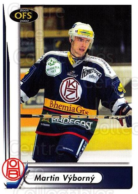 2001-02 Czech OFS #210 Martin Vyborny<br/>3 In Stock - $2.00 each - <a href=https://centericecollectibles.foxycart.com/cart?name=2001-02%20Czech%20OFS%20%23210%20Martin%20Vyborny...&quantity_max=3&price=$2.00&code=93578 class=foxycart> Buy it now! </a>