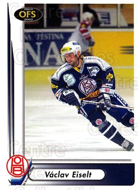 2001-02 Czech OFS #216 Vaclav Eiselt<br/>6 In Stock - $2.00 each - <a href=https://centericecollectibles.foxycart.com/cart?name=2001-02%20Czech%20OFS%20%23216%20Vaclav%20Eiselt...&quantity_max=6&price=$2.00&code=93583 class=foxycart> Buy it now! </a>
