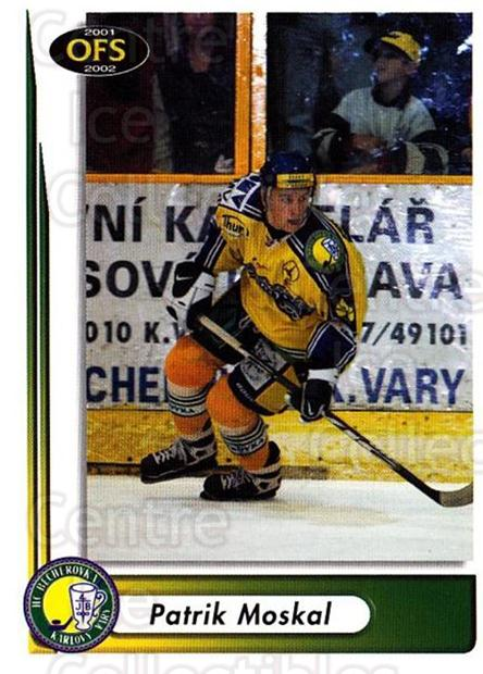 2001-02 Czech OFS #219 Patrik Moskal<br/>5 In Stock - $2.00 each - <a href=https://centericecollectibles.foxycart.com/cart?name=2001-02%20Czech%20OFS%20%23219%20Patrik%20Moskal...&quantity_max=5&price=$2.00&code=93586 class=foxycart> Buy it now! </a>