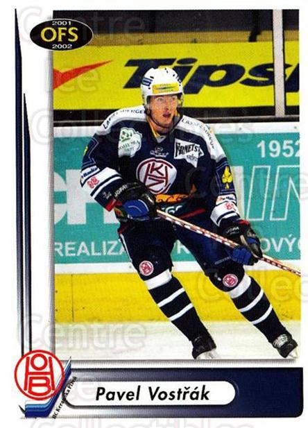 2001-02 Czech OFS #221 Pavel Vostrak<br/>3 In Stock - $2.00 each - <a href=https://centericecollectibles.foxycart.com/cart?name=2001-02%20Czech%20OFS%20%23221%20Pavel%20Vostrak...&quantity_max=3&price=$2.00&code=93589 class=foxycart> Buy it now! </a>