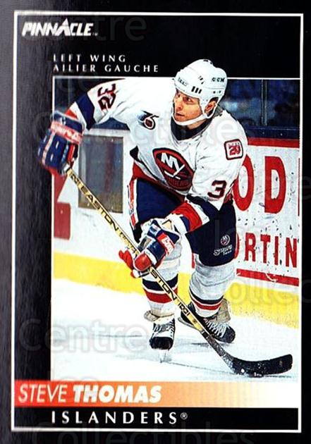 1992-93 Pinnacle Canadian #128 Steve Thomas<br/>5 In Stock - $1.00 each - <a href=https://centericecollectibles.foxycart.com/cart?name=1992-93%20Pinnacle%20Canadian%20%23128%20Steve%20Thomas...&quantity_max=5&price=$1.00&code=9361 class=foxycart> Buy it now! </a>