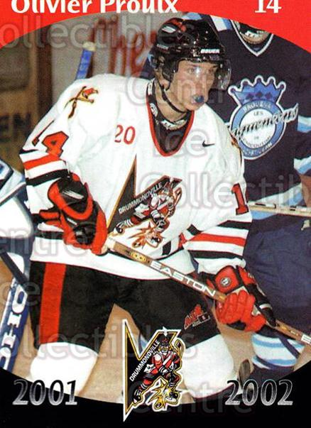 2001-02 Drummondville Voltigeurs #10 Oliver Proulx<br/>3 In Stock - $3.00 each - <a href=https://centericecollectibles.foxycart.com/cart?name=2001-02%20Drummondville%20Voltigeurs%20%2310%20Oliver%20Proulx...&price=$3.00&code=93622 class=foxycart> Buy it now! </a>