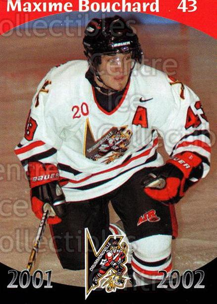 2001-02 Drummondville Voltigeurs #22 Maxime Bouchard<br/>7 In Stock - $3.00 each - <a href=https://centericecollectibles.foxycart.com/cart?name=2001-02%20Drummondville%20Voltigeurs%20%2322%20Maxime%20Bouchard...&price=$3.00&code=93635 class=foxycart> Buy it now! </a>