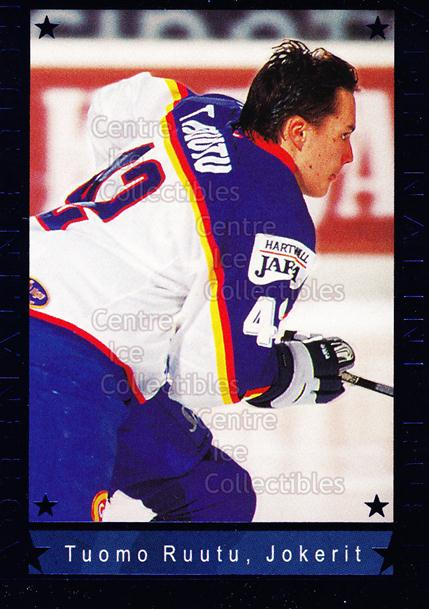 2001-02 Finnish Cardset Adrenaline Rush #6 Tuomo Ruutu<br/>1 In Stock - $3.00 each - <a href=https://centericecollectibles.foxycart.com/cart?name=2001-02%20Finnish%20Cardset%20Adrenaline%20Rush%20%236%20Tuomo%20Ruutu...&price=$3.00&code=93646 class=foxycart> Buy it now! </a>