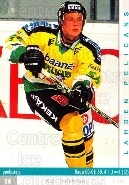 2001-02 Finnish Cardset #100 Kaj Lindstrom<br/>7 In Stock - $2.00 each - <a href=https://centericecollectibles.foxycart.com/cart?name=2001-02%20Finnish%20Cardset%20%23100%20Kaj%20Lindstrom...&quantity_max=7&price=$2.00&code=93664 class=foxycart> Buy it now! </a>