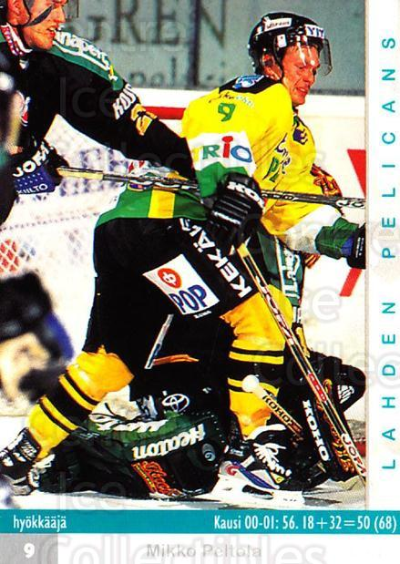 2001-02 Finnish Cardset #101 Mikko Peltola<br/>7 In Stock - $2.00 each - <a href=https://centericecollectibles.foxycart.com/cart?name=2001-02%20Finnish%20Cardset%20%23101%20Mikko%20Peltola...&quantity_max=7&price=$2.00&code=93665 class=foxycart> Buy it now! </a>