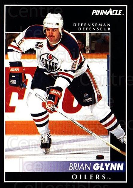 1992-93 Pinnacle Canadian #136 Brian Glynn<br/>3 In Stock - $1.00 each - <a href=https://centericecollectibles.foxycart.com/cart?name=1992-93%20Pinnacle%20Canadian%20%23136%20Brian%20Glynn...&quantity_max=3&price=$1.00&code=9370 class=foxycart> Buy it now! </a>