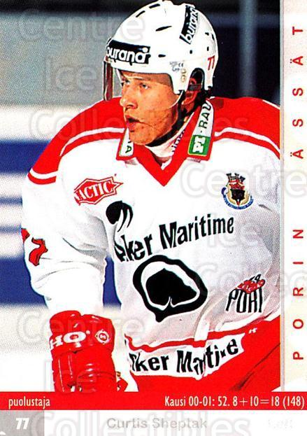 2001-02 Finnish Cardset #149 Curtis Sheptak<br/>8 In Stock - $2.00 each - <a href=https://centericecollectibles.foxycart.com/cart?name=2001-02%20Finnish%20Cardset%20%23149%20Curtis%20Sheptak...&price=$2.00&code=93714 class=foxycart> Buy it now! </a>