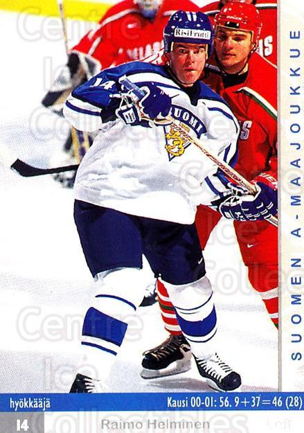 2001-02 Finnish Cardset #168 Raimo Helminen<br/>9 In Stock - $2.00 each - <a href=https://centericecollectibles.foxycart.com/cart?name=2001-02%20Finnish%20Cardset%20%23168%20Raimo%20Helminen...&price=$2.00&code=93733 class=foxycart> Buy it now! </a>