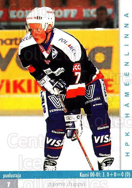 2001-02 Finnish Cardset #216 Janne Juppo<br/>10 In Stock - $2.00 each - <a href=https://centericecollectibles.foxycart.com/cart?name=2001-02%20Finnish%20Cardset%20%23216%20Janne%20Juppo...&quantity_max=10&price=$2.00&code=93783 class=foxycart> Buy it now! </a>
