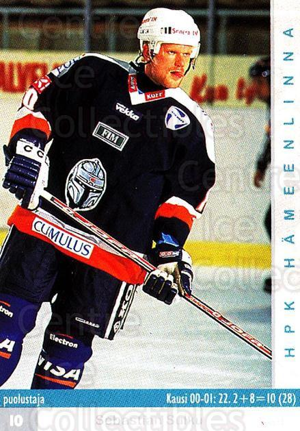 2001-02 Finnish Cardset #217 Sebastien Sulku<br/>7 In Stock - $2.00 each - <a href=https://centericecollectibles.foxycart.com/cart?name=2001-02%20Finnish%20Cardset%20%23217%20Sebastien%20Sulku...&quantity_max=7&price=$2.00&code=93784 class=foxycart> Buy it now! </a>