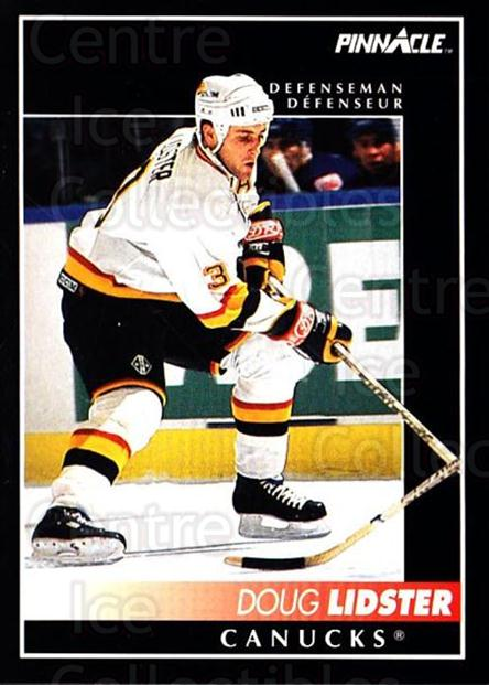 1992-93 Pinnacle Canadian #147 Doug Lidster<br/>3 In Stock - $1.00 each - <a href=https://centericecollectibles.foxycart.com/cart?name=1992-93%20Pinnacle%20Canadian%20%23147%20Doug%20Lidster...&quantity_max=3&price=$1.00&code=9382 class=foxycart> Buy it now! </a>