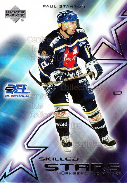 2001-02 German DEL Skilled Stars #11 Paul Stanton<br/>8 In Stock - $3.00 each - <a href=https://centericecollectibles.foxycart.com/cart?name=2001-02%20German%20DEL%20Skilled%20Stars%20%2311%20Paul%20Stanton...&price=$3.00&code=93913 class=foxycart> Buy it now! </a>