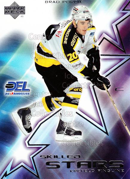 2001-02 German DEL Skilled Stars #3 Brad Purdie<br/>5 In Stock - $3.00 each - <a href=https://centericecollectibles.foxycart.com/cart?name=2001-02%20German%20DEL%20Skilled%20Stars%20%233%20Brad%20Purdie...&quantity_max=5&price=$3.00&code=93915 class=foxycart> Buy it now! </a>