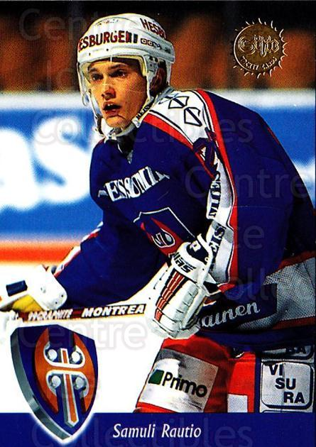 1994-95 Finnish SISU #126 Samuli Rautio<br/>5 In Stock - $2.00 each - <a href=https://centericecollectibles.foxycart.com/cart?name=1994-95%20Finnish%20SISU%20%23126%20Samuli%20Rautio...&quantity_max=5&price=$2.00&code=939 class=foxycart> Buy it now! </a>