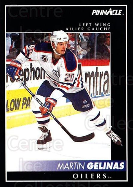 1992-93 Pinnacle Canadian #166 Martin Gelinas<br/>5 In Stock - $1.00 each - <a href=https://centericecollectibles.foxycart.com/cart?name=1992-93%20Pinnacle%20Canadian%20%23166%20Martin%20Gelinas...&quantity_max=5&price=$1.00&code=9402 class=foxycart> Buy it now! </a>