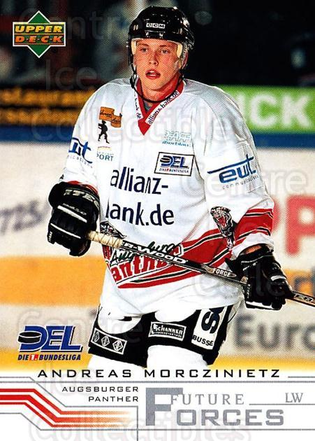 2001-02 German DEL #241 Andreas Morczinietz<br/>9 In Stock - $2.00 each - <a href=https://centericecollectibles.foxycart.com/cart?name=2001-02%20German%20DEL%20%23241%20Andreas%20Morczin...&quantity_max=9&price=$2.00&code=94064 class=foxycart> Buy it now! </a>