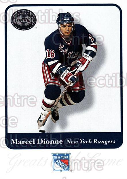 2001-02 Fleer Greats of the Game #16 Marcel Dionne<br/>5 In Stock - $1.00 each - <a href=https://centericecollectibles.foxycart.com/cart?name=2001-02%20Fleer%20Greats%20of%20the%20Game%20%2316%20Marcel%20Dionne...&quantity_max=5&price=$1.00&code=94088 class=foxycart> Buy it now! </a>