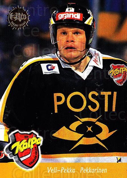 1994-95 Finnish SISU #127 Veli-Pekka Pekkarinen<br/>4 In Stock - $2.00 each - <a href=https://centericecollectibles.foxycart.com/cart?name=1994-95%20Finnish%20SISU%20%23127%20Veli-Pekka%20Pekk...&quantity_max=4&price=$2.00&code=940 class=foxycart> Buy it now! </a>