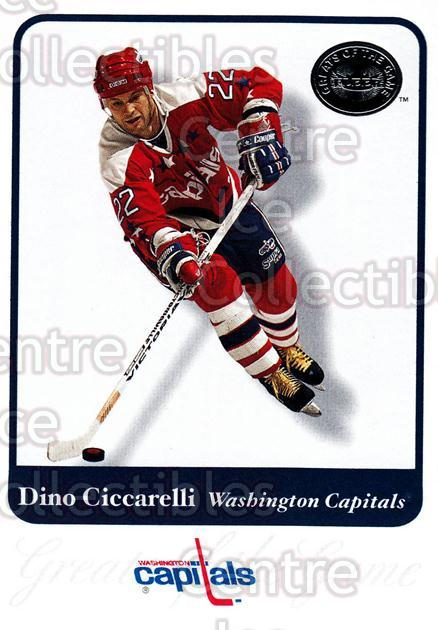 2001-02 Fleer Greats of the Game #28 Dino Ciccarelli<br/>10 In Stock - $1.00 each - <a href=https://centericecollectibles.foxycart.com/cart?name=2001-02%20Fleer%20Greats%20of%20the%20Game%20%2328%20Dino%20Ciccarelli...&quantity_max=10&price=$1.00&code=94101 class=foxycart> Buy it now! </a>