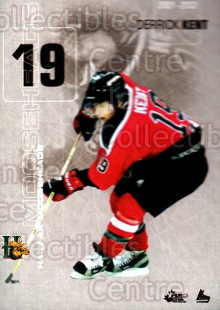 2001-02 Halifax Mooseheads #12 Derrick Kent<br/>10 In Stock - $3.00 each - <a href=https://centericecollectibles.foxycart.com/cart?name=2001-02%20Halifax%20Mooseheads%20%2312%20Derrick%20Kent...&quantity_max=10&price=$3.00&code=94200 class=foxycart> Buy it now! </a>
