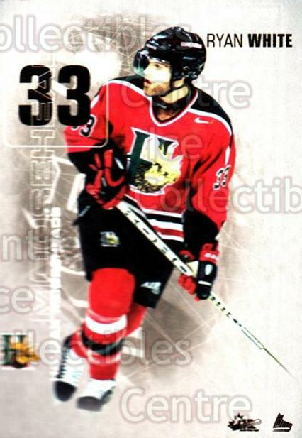 2001-02 Halifax Mooseheads #22 Ryan White<br/>11 In Stock - $3.00 each - <a href=https://centericecollectibles.foxycart.com/cart?name=2001-02%20Halifax%20Mooseheads%20%2322%20Ryan%20White...&quantity_max=11&price=$3.00&code=94204 class=foxycart> Buy it now! </a>