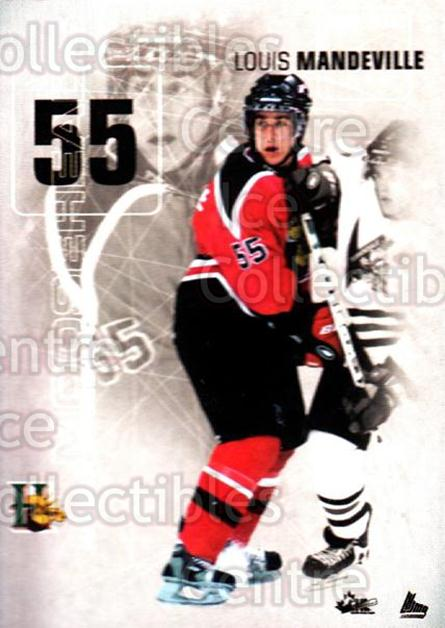 2001-02 Halifax Mooseheads #17 Louis Mandeville<br/>11 In Stock - $3.00 each - <a href=https://centericecollectibles.foxycart.com/cart?name=2001-02%20Halifax%20Mooseheads%20%2317%20Louis%20Mandevill...&quantity_max=11&price=$3.00&code=94211 class=foxycart> Buy it now! </a>